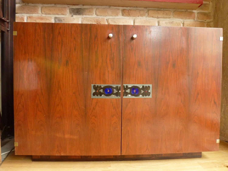 L 39 attrape coeur console meuble de rangement troit en - Petit meuble en verre ...
